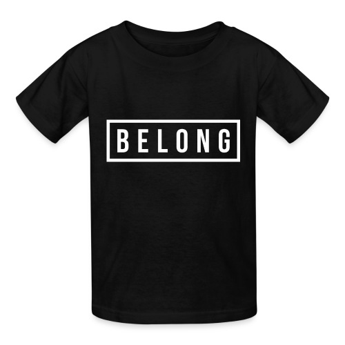 Belong White - Kids' T-Shirt