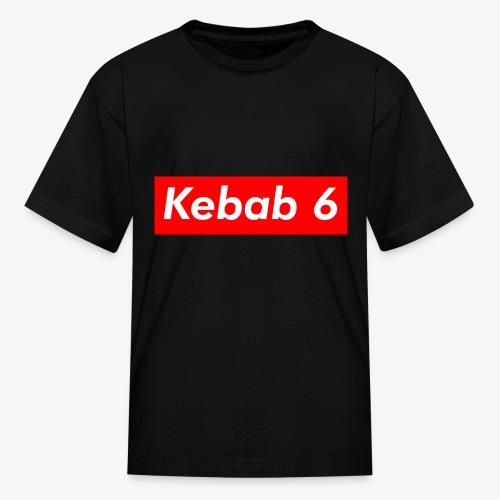 Kebab 6 box logo - Kids' T-Shirt