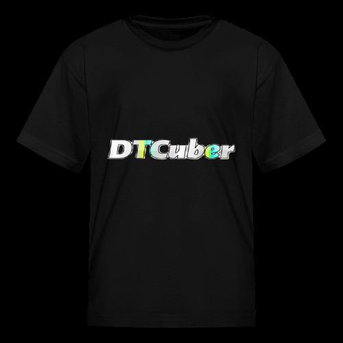 DTCuber Logo - Kids' T-Shirt