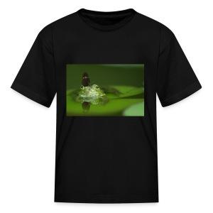frog butterfly - Kids' T-Shirt