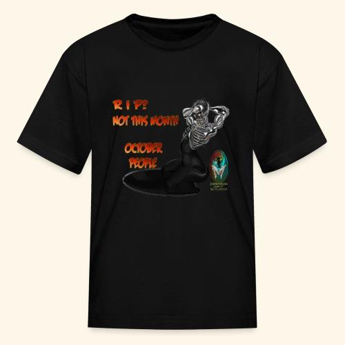 SKULL AND BONES METAL WOMAN - Kids' T-Shirt