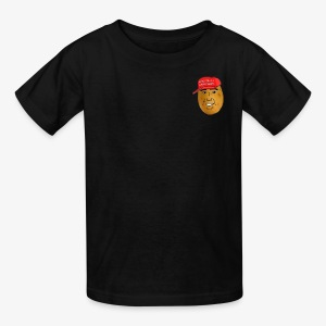 maga potato logo - Kids' T-Shirt