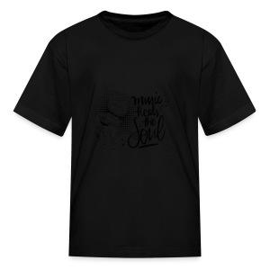 Music - Kids' T-Shirt