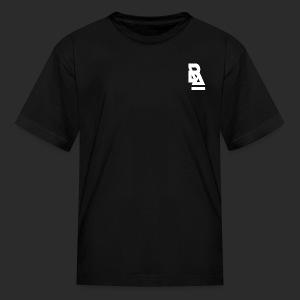 White Official BlizzardArtz Logo - Kids' T-Shirt
