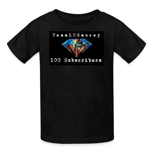 100 Subscribers T-Shirts - Kids' T-Shirt