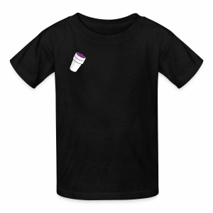 purple drink - Kids' T-Shirt