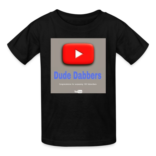 Dude Dabbers special 100 sub accessories - Kids' T-Shirt