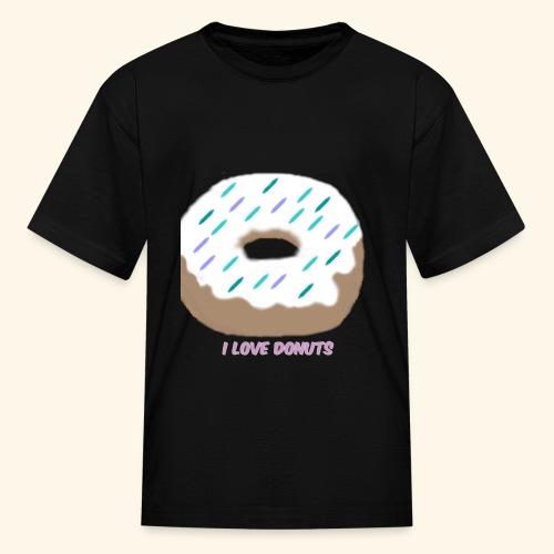 I Love Donuts - Kids' T-Shirt