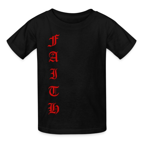 Faith Text - Kids' T-Shirt