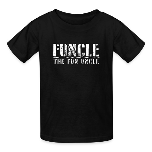 FUNCLE THE FUN UNCLE family joke funny Tshirt - Kids' T-Shirt