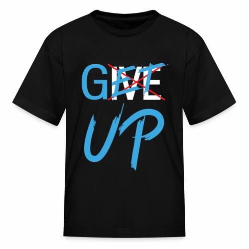 Black White Get UP - Kids' T-Shirt