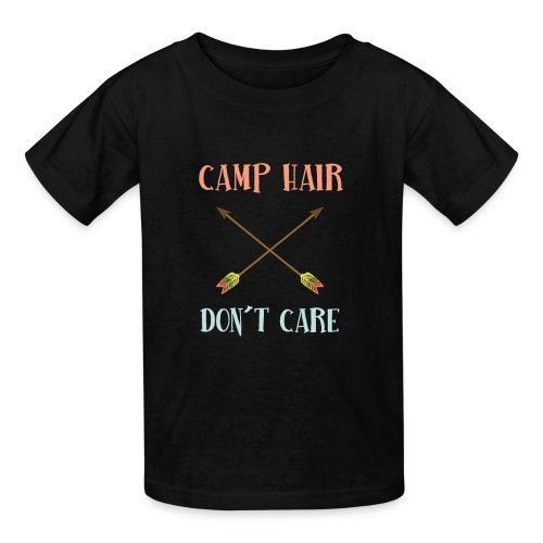 camp hair dont care t-shirt - Kids' T-Shirt