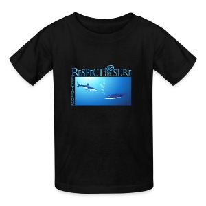Respect The Shark - Kids' T-Shirt