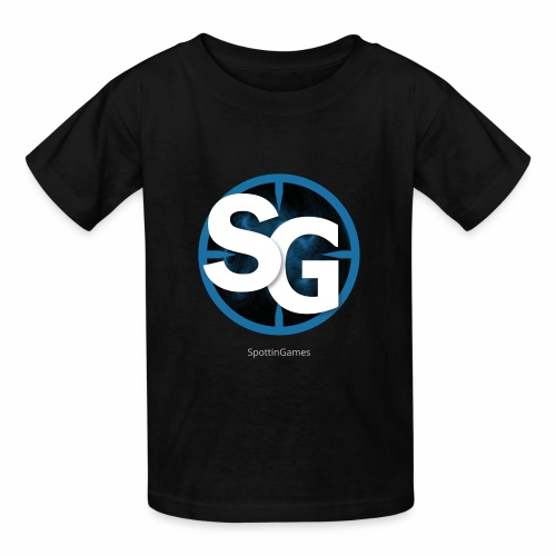 SpottinGames logo - Kids' T-Shirt