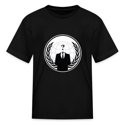 Anonymous Logo - Kids' T-Shirt