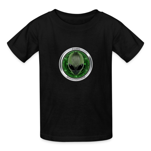 New Alien Investigations Head Logo - Kids' T-Shirt