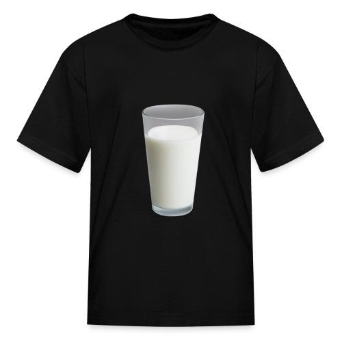 Milk On Shirt - Kids' T-Shirt