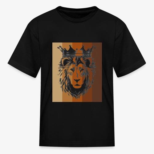 lion colors king - Kids' T-Shirt