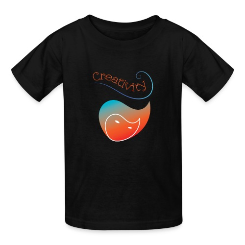 Curved Creativity - Kids' T-Shirt