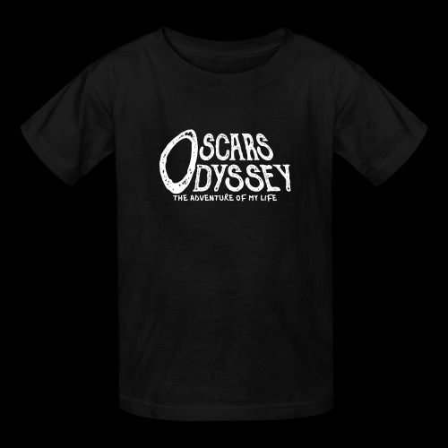 Oscars Odyssey Shirt White Logo - Kids' T-Shirt