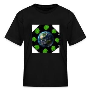 Oaktree world - Kids' T-Shirt