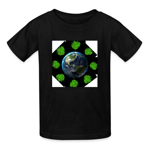 Oaktree world - Kids' T-Shirt