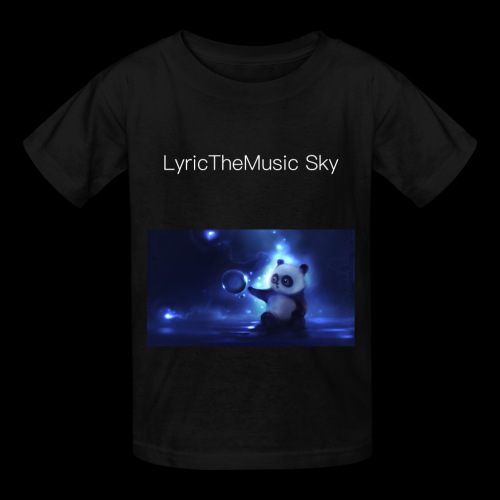 """LyricTheMusic Sky"" MERCH - Kids' T-Shirt"