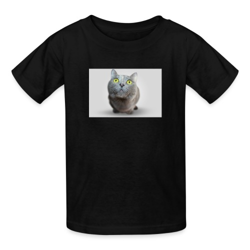 funny cat T-shirt - Kids' T-Shirt