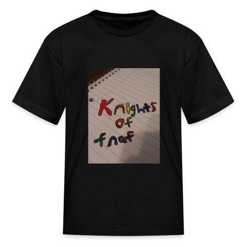 Knights of fnaf merch - Kids' T-Shirt