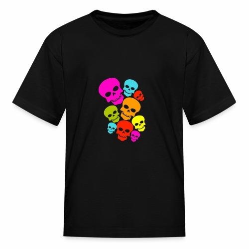 Happy Skull - Kids' T-Shirt