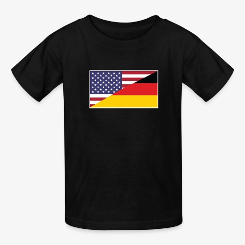german american - Kids' T-Shirt