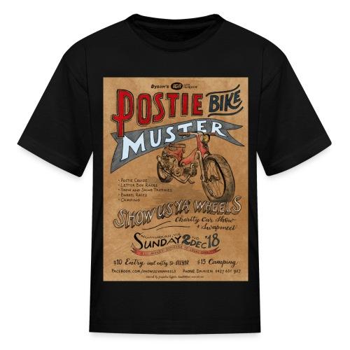 Postie Muster Show Us Ya Wheels 2018 - Kids' T-Shirt