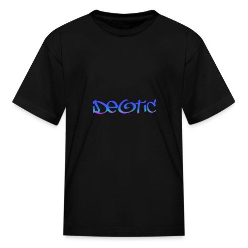 Kids Graffiti Ideotic Logo - Kids' T-Shirt