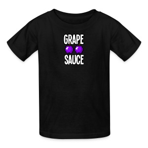 Grape Apple Sauce Double Apple Logo - Kids' T-Shirt