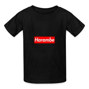 Harambe x Supreme Box Logo - Kids' T-Shirt