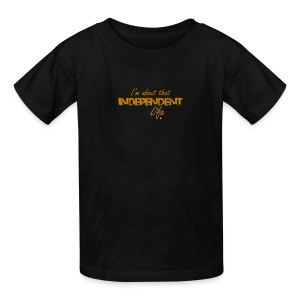The Independent Life Gear - Kids' T-Shirt