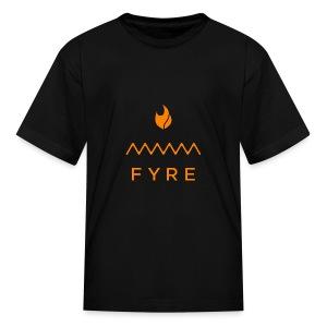FyreLogoOrange - Kids' T-Shirt