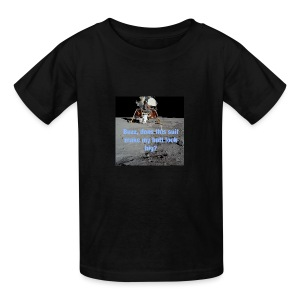 Does this Spacesuit make my butt look big? - Kids' T-Shirt