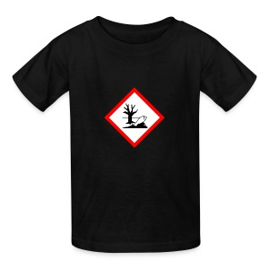 danger for the environment - Kids' T-Shirt
