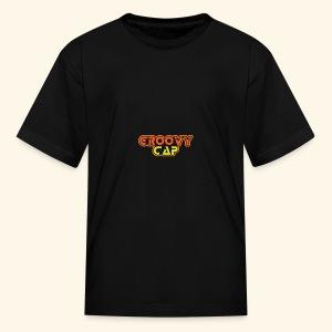 Groovy Cap Logo - Kids' T-Shirt