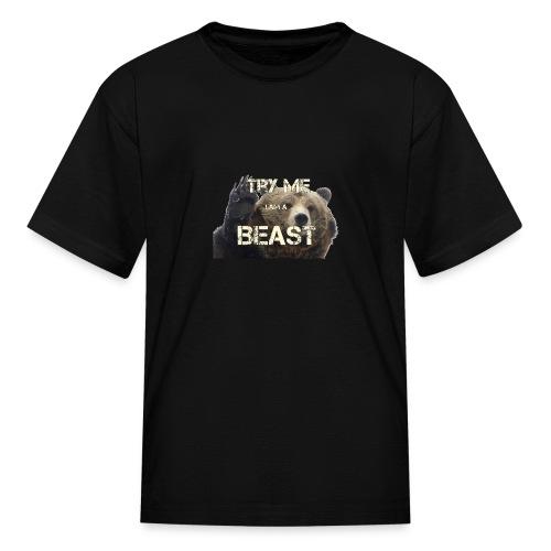 TRY ME BEAST - Kids' T-Shirt