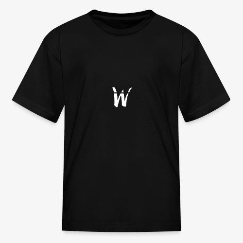 W White Design - Kids' T-Shirt