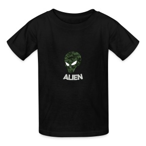 Military Alien - Kids' T-Shirt