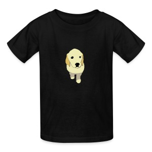Golden Retriever puppy - Kids' T-Shirt
