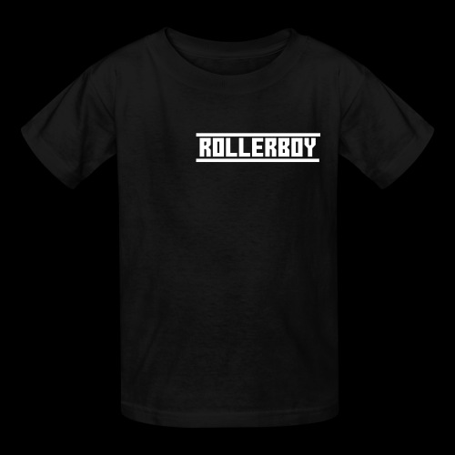 Exclusive ROLLERBOY NAME LABLE - Kids' T-Shirt