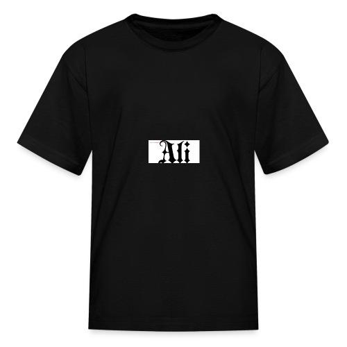 ali name design6 - Kids' T-Shirt