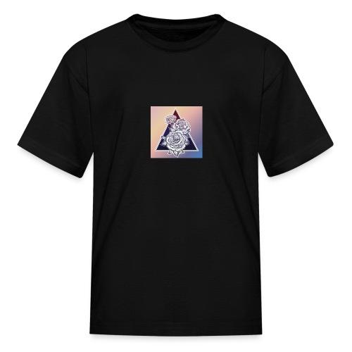 Rose Triangle - Kids' T-Shirt