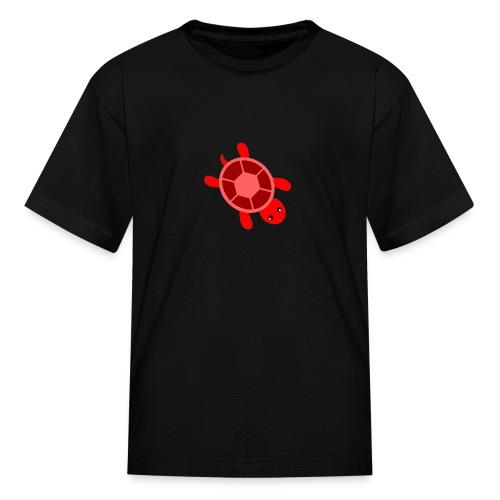 CrazyLittleRedTurtle! - Kids' T-Shirt
