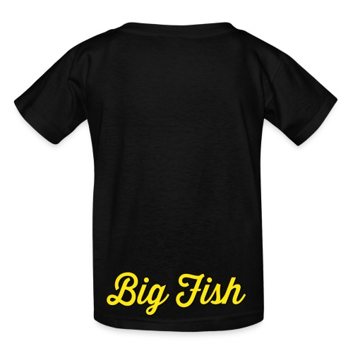 Big Fish Outlined - Kids' T-Shirt