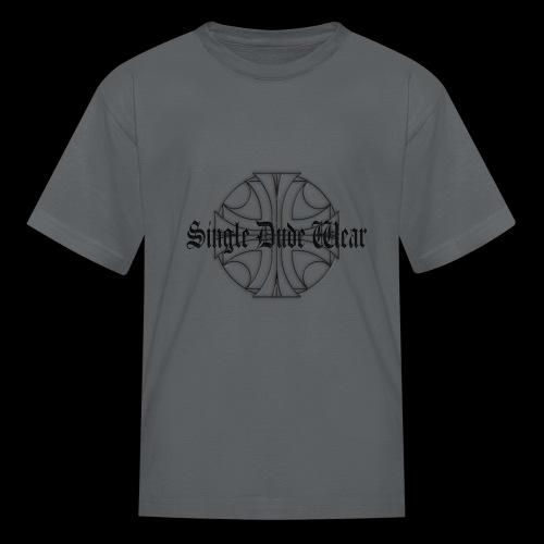 SDW maltese old letters dude - Kids' T-Shirt